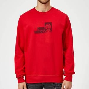 Super Mario Her Hero Sweatshirt - Red