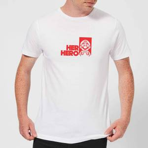 Super Mario Her Hero Men's T-Shirt - White