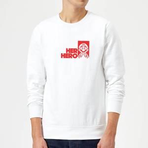 Super Mario Her Hero Sweatshirt - White