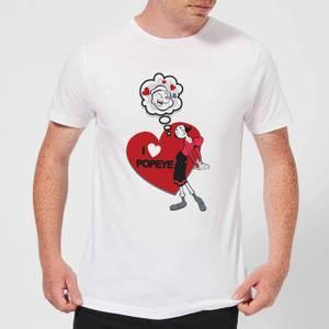 Popeye I Love Popeye Men's T-Shirt - White