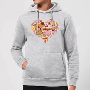 Scooby Doo Snacks Are My Valentine Hoodie - Grey