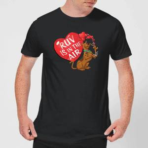 Scooby Doo Ruv Is In The Air Men's T-Shirt - Black