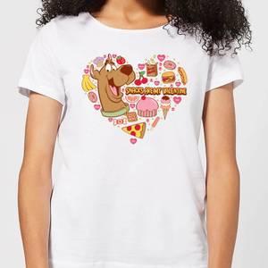 Scooby Doo Snacks Are My Valentine Women's T-Shirt - White