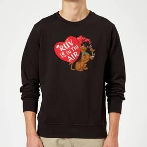 Scooby Doo Ruv Is In The Air Sweatshirt - Black
