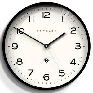 Newgate Number Three Echo Wall Clock - Black