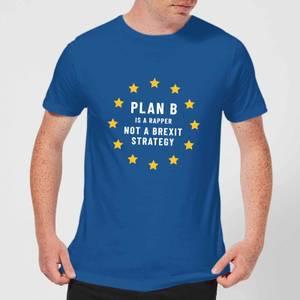 Plan B Is A Rapper Men's T-Shirt - Royal Blue