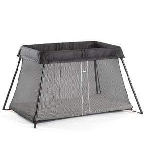 BABYBJÖRN Travel Cot Light - Black