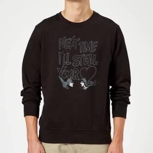 Batman Steal Your Heart Sweatshirt - Black