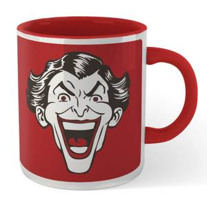 Batman Crazy In Love Mr. J Mug - White/Red