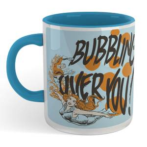 Aquaman Reel Catch Mug - White/Blue