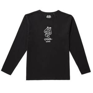 Nintendo Original Hero Goomba Long Sleeve T-Shirt - Black