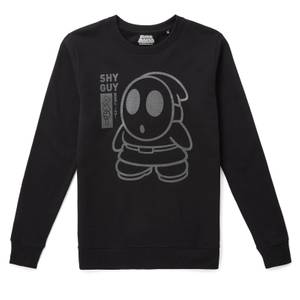 Nintendo Original Hero Shy Guy Sweatshirt - Black