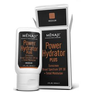 Menaji Power Hydrator PLUS Broad Spectrum Sunscreen SPF30 + Tinted Moisturiser 60ml