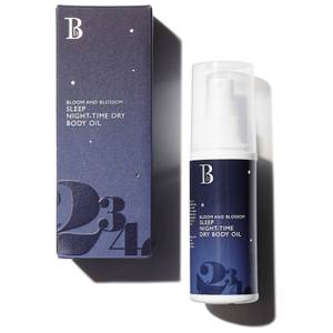 Bloom and Blossom Sleep Night-Time Dry Body Oil 100ml