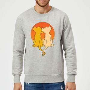 Disney Lion King We Are One Sweatshirt - Grey