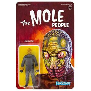 Figurine articulée Super7 Universal Monsters ReAction – Mole Man – 10 cm