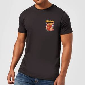 The Flintstones Pocket Pattern Men's T-Shirt - Black