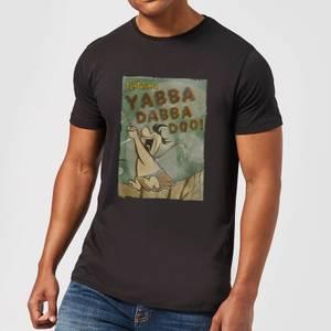 The Flintstones Yabba Dabba Doo! Men's T-Shirt - Black