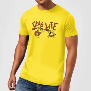 The Flintstones Club Life Men's T-Shirt - Yellow