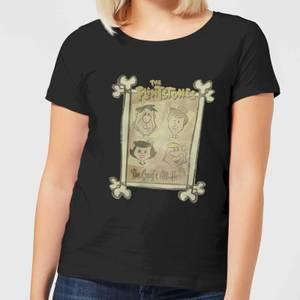 The Flintstones The Gang's All Here Women's T-Shirt - Black
