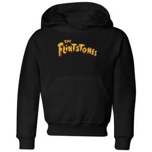 The Flintstones Logo Kids' Hoodie - Black