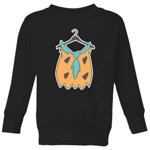 The Flintstones Fred Shirt Kids' Sweatshirt - Black