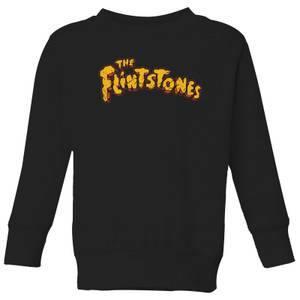 The Flintstones Logo Kids' Sweatshirt - Black