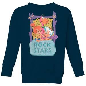 The Flintstones Rock Stars Kids' Sweatshirt - Navy