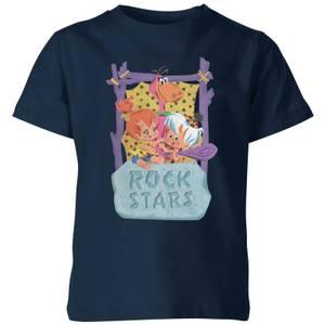 The Flintstones Rock Stars Kids' T-Shirt - Navy