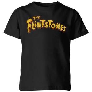 The Flintstones Logo Kids' T-Shirt - Black