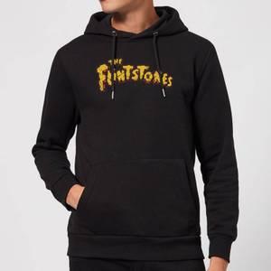 The Flintstones Logo Hoodie - Black