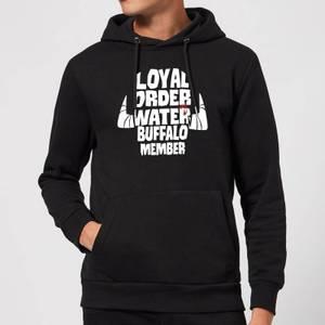 The Flintstones Loyal Order Of Water Buffalo Member Hoodie - Black
