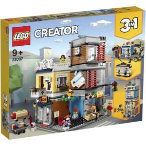 LEGO Creator: 3in1 Townhouse Pet Shop & Café Set (31097)