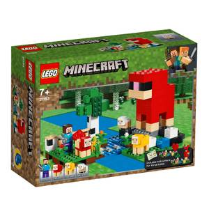 LEGO Minecraft: The Wool Farm Building Set (21153)