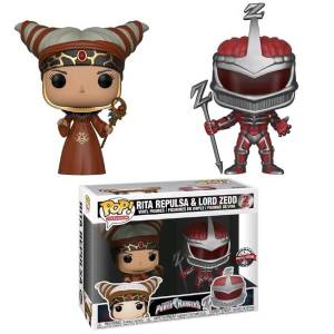 Power Rangers - Rita e Lord Zedd 2-Pack Figure Pop! Vinyl Esclusive