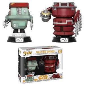 Star Wars: Solo - Fighting Droids EXC Funko Pop! Vinyl 2-pack