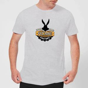 Looney Tunes ACME Logo Men's T-Shirt - Grey