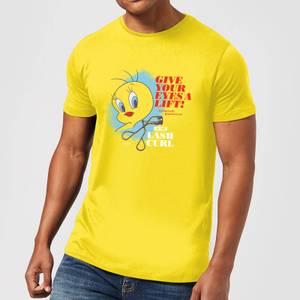 Looney Tunes ACME Lash Curler Men's T-Shirt - Yellow