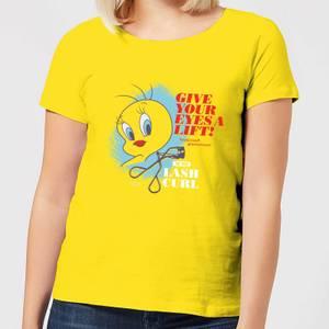 Looney Tunes ACME Lash Curler Women's T-Shirt - Yellow