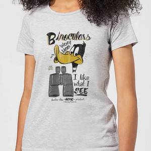 Looney Tunes ACME Binoculars Women's T-Shirt - Grey