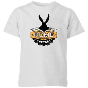 Looney Tunes ACME Logo Kids' T-Shirt - Grey