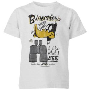 Looney Tunes ACME Binoculars Kids' T-Shirt - Grey