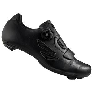 Lake CX176 Wide Fit Road Shoes - Black/Grey