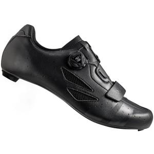 Lake CX218 Carbon Wide Fit Road Shoes - Black/Grey