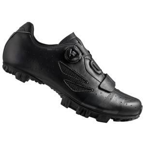 Lake MX176 Wide Fit MTB Shoes - Black/Grey