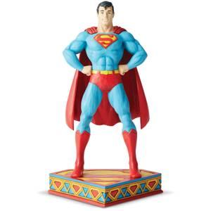 DC Comics by Jim Shore Superman Silver Age Figurine 22.0cm