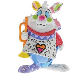 Disney Britto White Rabbit Figurine 7.0cm
