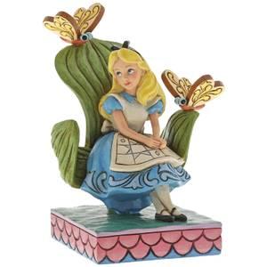 Figura Alicia en el País de la Maravillas Curiorífico y curiorífico (14 cm) - Disney Traditions