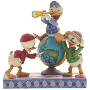 Disney Traditions Navigating Nephews (Figurine Riri, Fifi et Loulou) 17 cm