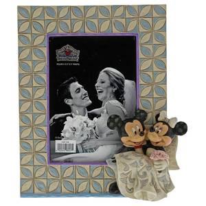 Disney Traditions Mickey and Minnie Wedding Frame 18.0cm